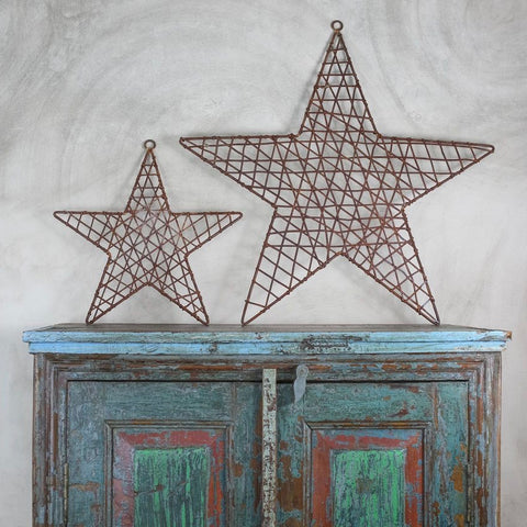 Wire & Metal Star