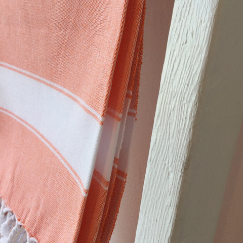 Turkish Towel Orange