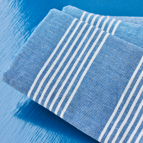 Zebuu Turkish Hand Towel Blue