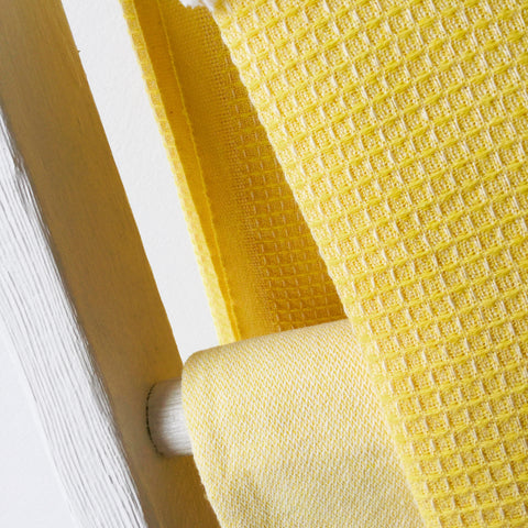 Zebuu Turkish Towel Yellow