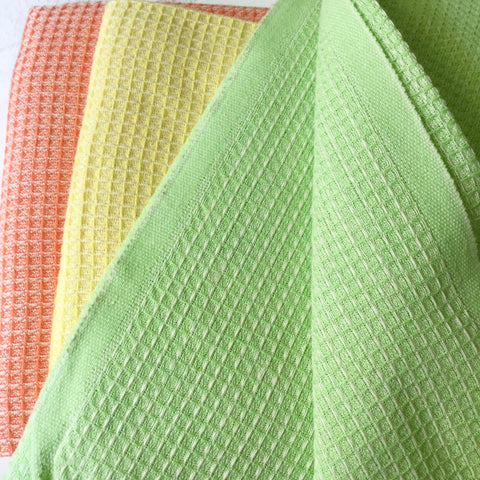 Zebuu Turkish Towel Fiesta Green