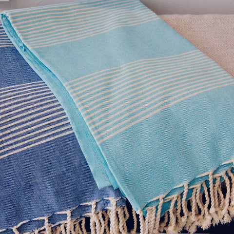 Zebuu Turkish Towel Turquoise