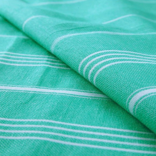 Zebuu Turkish Towel Spring Green