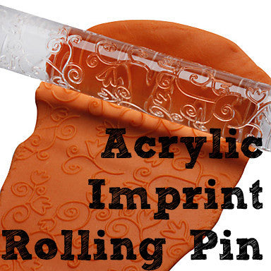 Acrylic Imprint Rolling Pins