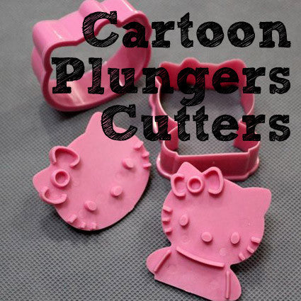 Cartoon Plungers & Cutters