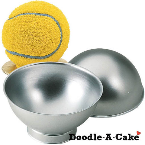 3D Ball / Spherical Aluminium Cake Pan
