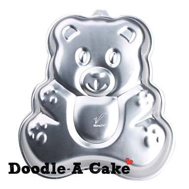 Teddy Bear Aluminium Cake Pan