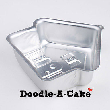Stand Up House Aluminium Cake Pan