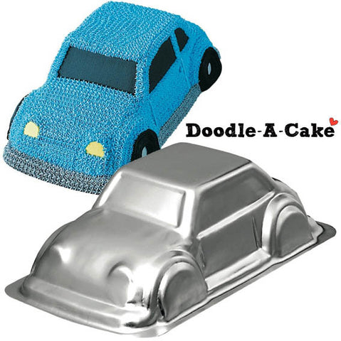 Sedan Car / Cruiser Aluminium Cake Pan