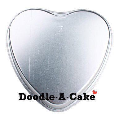 Heart Shaped Aluminium Cake Pan