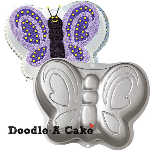 Butterfly Shaped Aluminium Cake Pan