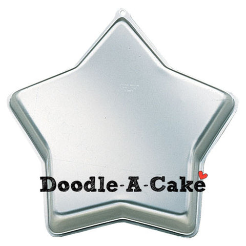 Star Shaped Aluminium Cake Pan