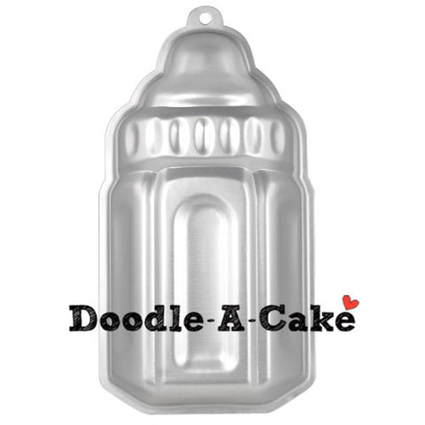 Milk Bottle Aluminium Cake Pan