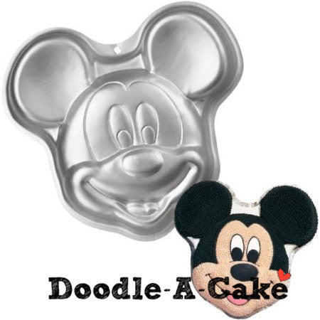 Mickey Mouse Inspired Aluminium Cake Pan