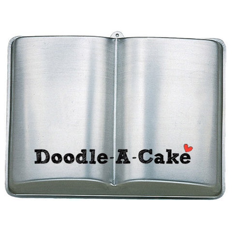 Open Book Aluminium Cake Pan