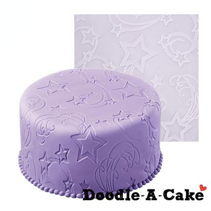 Star Power Silicone Fondant Imprint Mat