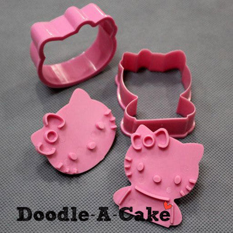 Hello Kitty Inspired Plunger & Cutter Set