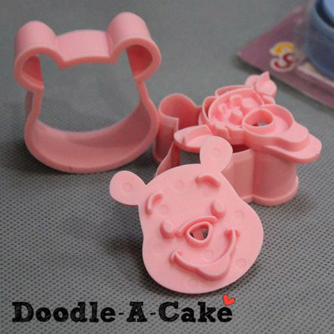 Winnie The Pooh & Tigger Inspired Plunger & Cutter Set