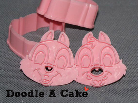 Chip & Dale Inspired Plunger & Cutter Set