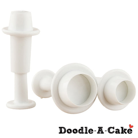 Mini Round-Shaped Plunger Set