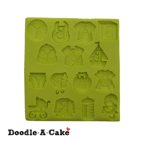 Baby Letters Silicone Mold