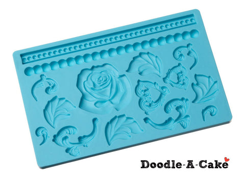 Baroque Set Silicone Mold