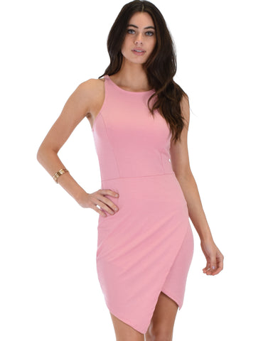 Rock & Ready Pink Bodycon Dress