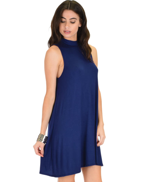 Olivia Tank Navy Shift Dress