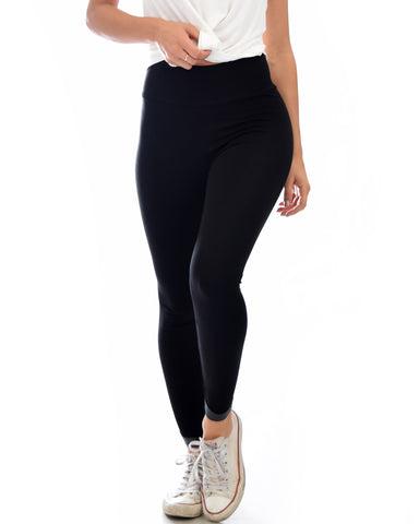 Legs for Days Versatile Black Leggings