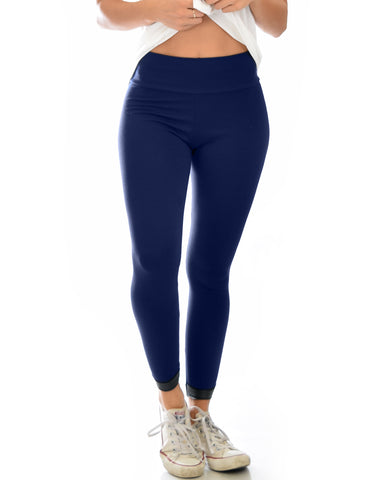 Legs for Days Versatile Navy Leggings
