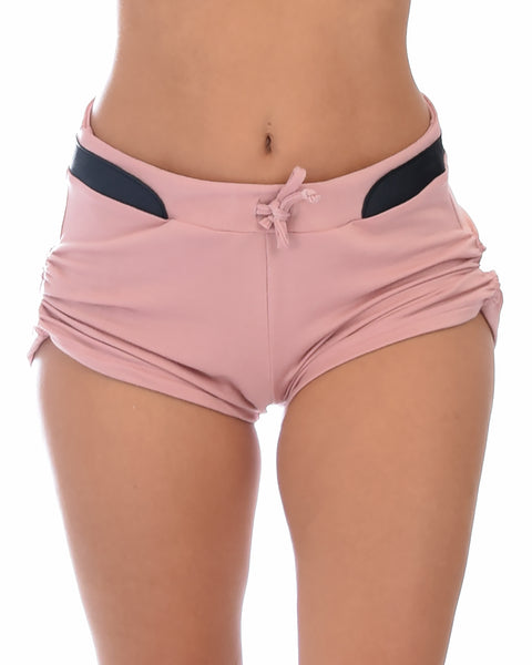 Love Me Shorty Pink Lounge Shorts