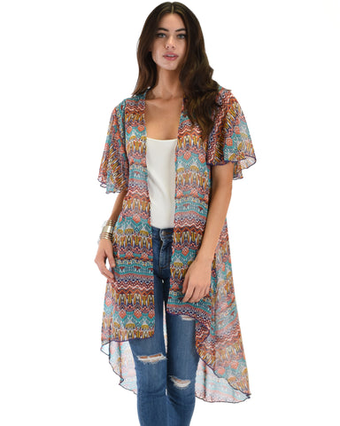 Breath of Life Pattern 15 Kimono Cardigan Top