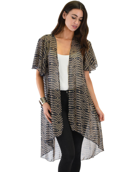Breath of Life Pattern 2 Kimono Cardigan Top