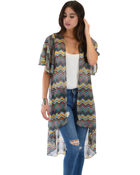 Breath of Life Pattern 6 Kimono Cardigan Top