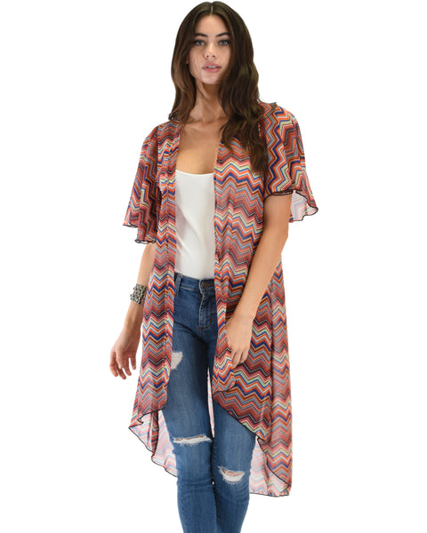 Breath of Life Pattern 7 Kimono Cardigan Top
