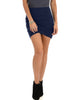 Pencil It In Ruched Navy Pencil Skirt - Main Image