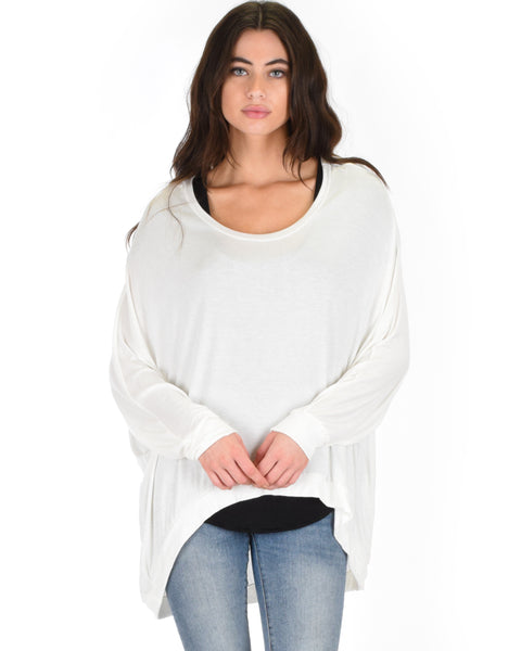 Light Weight Camille Spring Ivory Sweater Top