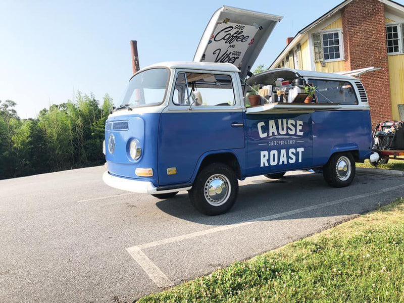 Introducing The Cause Roast Volkswagen Coffee Bus