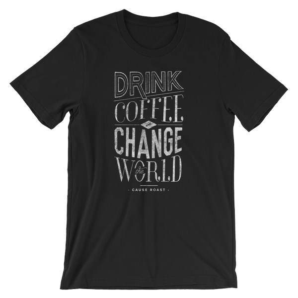 Handlettered Graphic T-shirt That Gives Back
