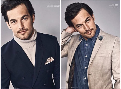 Actor Giancomo Gianniotti (Greys Anatomy) for Bello Magazine
