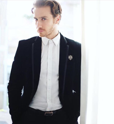Actor Eugenio Siller on a press tour