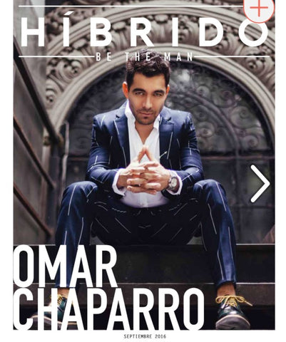 Omar Chaparro for HIBRIDO's cover