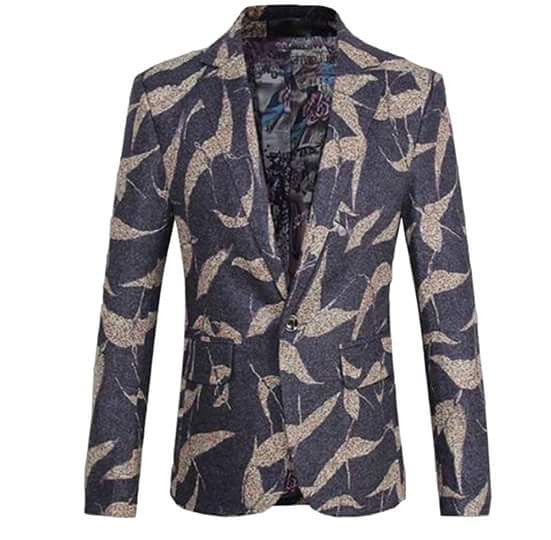 LEAVES BLAZER