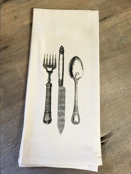 SILVERWARE KITCHEN TOWEL