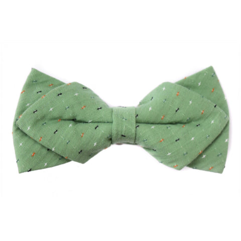 PISTACHIO DIAMOND BOW TIE