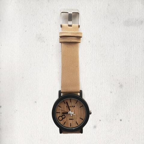 WOODEN NUDE WATCH