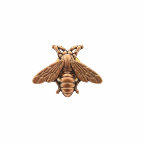 GOLDEN BEE LAPEL PIN