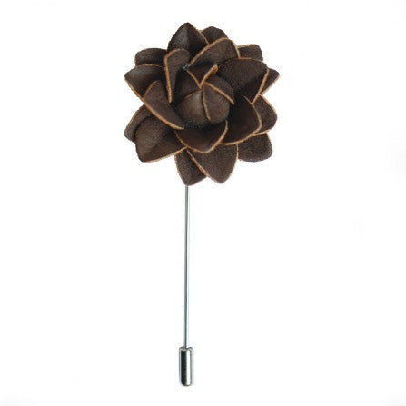 CHOCOLATE FLOWER BOUTONNIERE