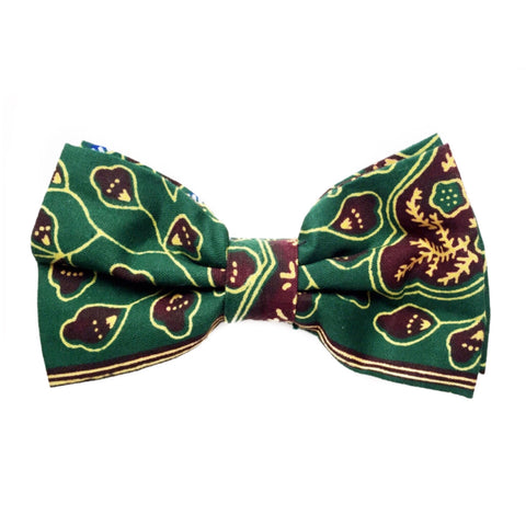 GREEN & YELLOW AFRICAN BOWTIE