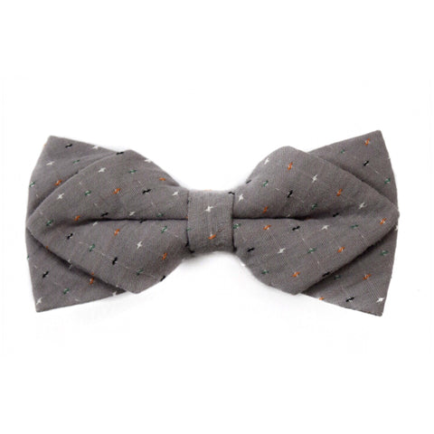 GRAY DIAMOND BOWTIE